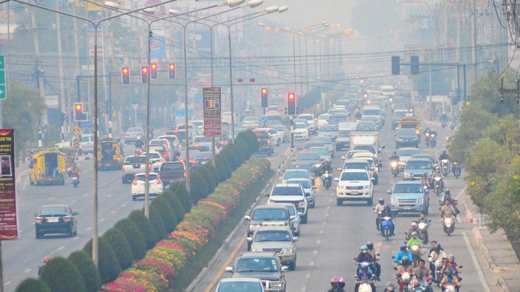 มลพิษทางอากาศ