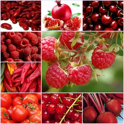 ผักผลไม้สีแดง ประโยชน์ของผักผลไม้สีแดง สารต้านมะเร็งที่ดี